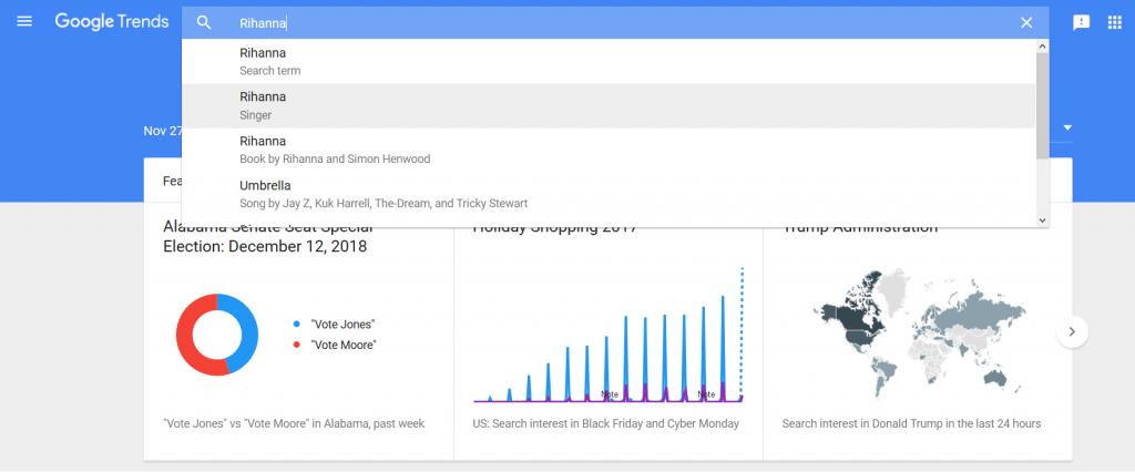 Google趨勢